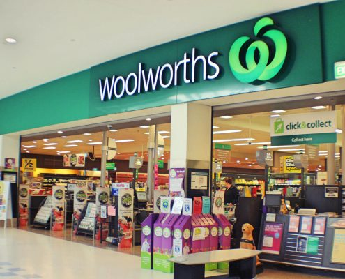 Woolworths Store example