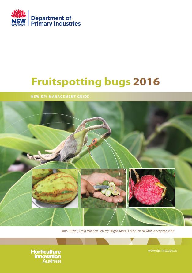 Cover of Fruitspotting Bug 2016 publication